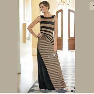 Soft Surroundings Infinity Maxi Dress Striped